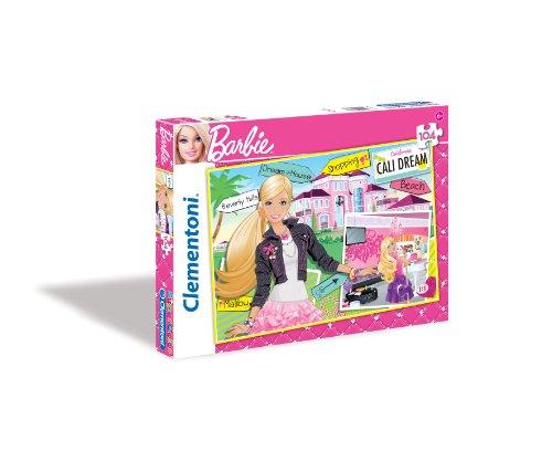 Clementoni - 27876.3 - Puzzle - Barbie - Villa de rêve - 104 Pièces