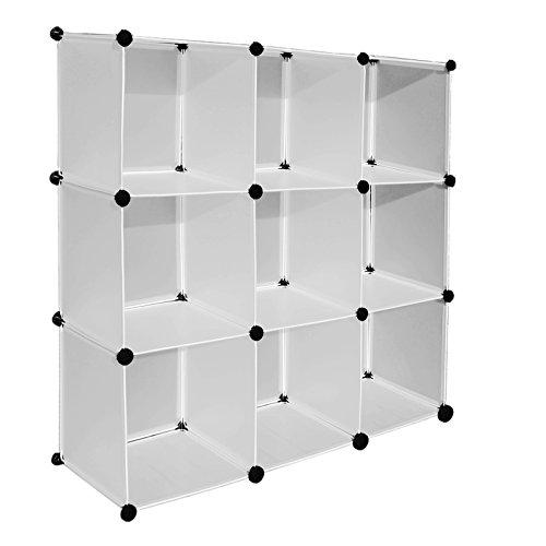 CR01 Regalsystem Cube Aufbewahrung Badregale Schuhregal Sideboard Kleiderschrank Stufenregal