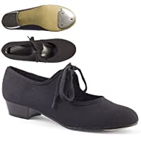Dance Gear LHC Low Heel Canvas Tap Shoes