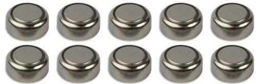 Camelion - SH Lot de 10 piles bouton alcalines LR44 AG13 A76 L1154 A76