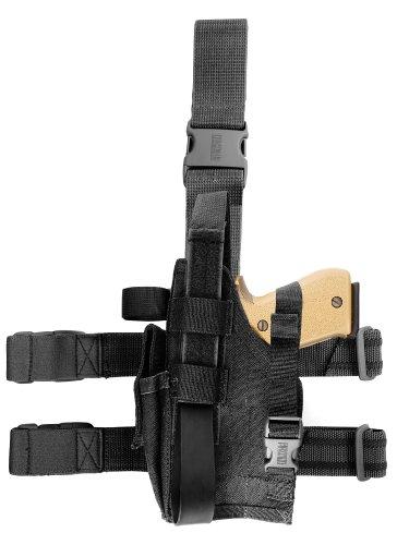 Blackhawk-Omega-Vi-Elite-schwarz-Holster-Gre-22-linke-Hand-Colt-45-Browning-9-mm-left