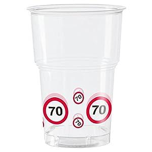 NUEVO signo tazas carretera 70, 10 uds.