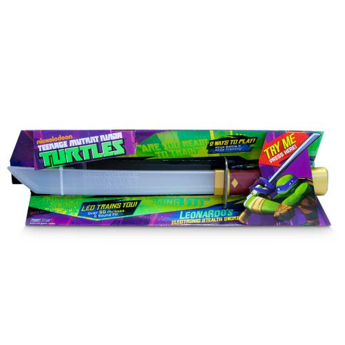 Teenage Mutant Ninja Turtles Leonardo's Katana Schwert (Englische Sprache) [UK (Turtles Leonardos Ninja Mutant Katana Teenage)