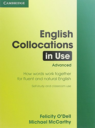 English Collocations in Use: Advanced by Felicity O'Dell (4-Sep-2008) Paperback