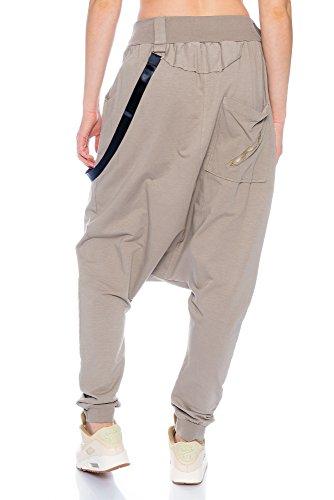 Kendindza Collection -  Pantaloni  - Donna Fango