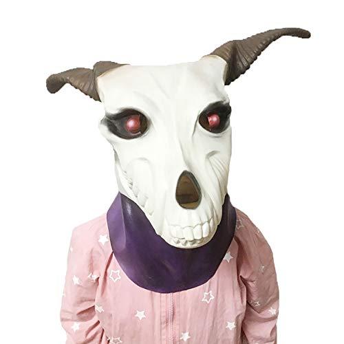 ke Taro Braut Maske Kopfbedeckung Weihnachten Kostümfest Latex Requisiten ()