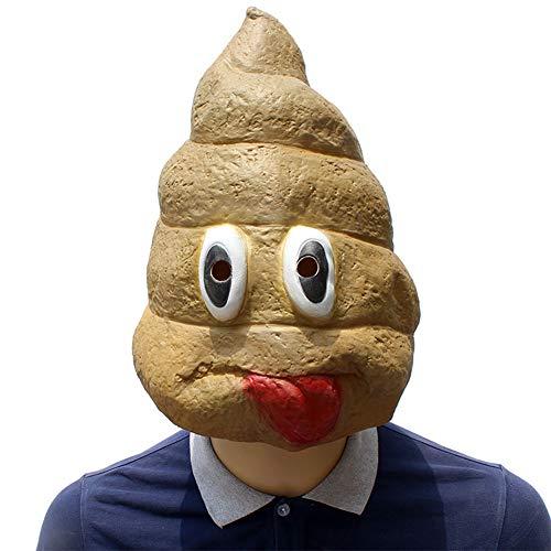 Halloween Creative Maske Lustige Bild Poop Lustige Set-Requisiten ()