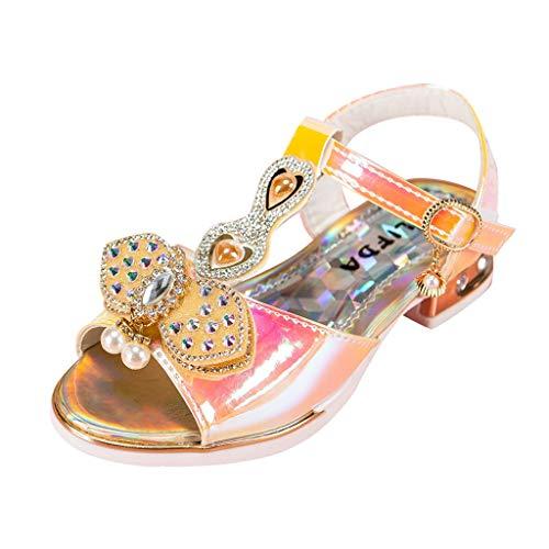 Mädchen Prinzessin Schuhe Kostüm Ballerina Festliche Kristall Mädchenschuhe Taufschuhe Schuhe Heligen Erbsen Schuhe Tanzschuhe Leder Einzelne Schuhe Party Schuhe Single Schuhe