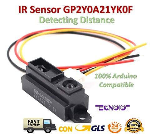 IR Sensor GP2Y0A21YK0F Measuring Detecting Distance Sensor 10 to 80cm with Cable |IR-Sensor GP2Y0A21YK0F Messen des Abstandssensors 10 bis 80 cm mit Kabel - Ir-booster