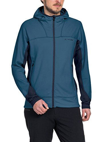 VAUDE Herren Jacke Basodino Hooded Jacket II washed blue