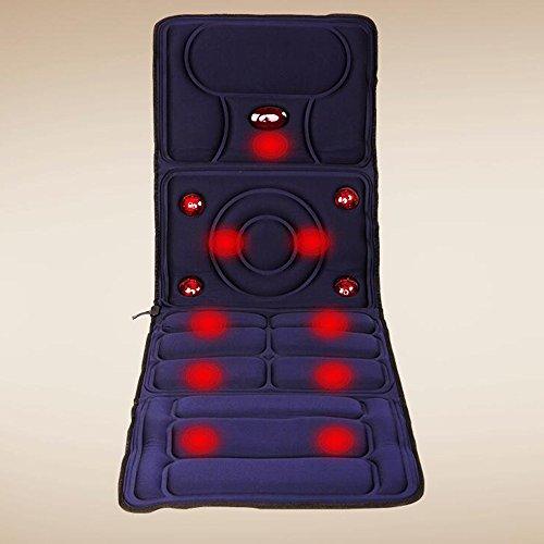Unbekannt Beste Hausmassage Home multifunktionale Matratze Neck Massager Vibration Shiatsu Beat Massage Kissen Hals Taille Rücken voller Körper bequeme Verwendung