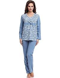 Be Mammy Damen Umstands Pyjama BE20-118