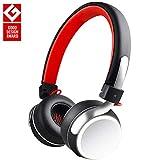 OneAudio Bluetooth Kopfhörer, On Ear Kabellos Headset, Moderne Ohrhörer mit LED Anzeiger, 12 Stundenspilezeit, Headphone mit Mikrofon und Komfortables Tragensgefühl für Musik und Video