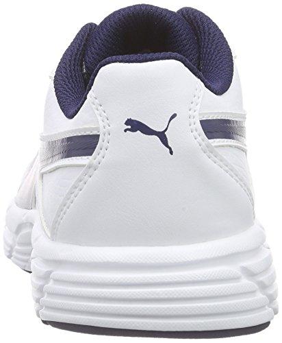 Puma Axis V4 Sl Unisex-Erwachsene Low-Top Weiß (white-peacoat 02)