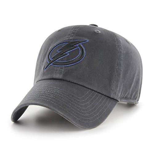 NHL Tampa Bay Lightning Stecker OTS mit Challenger verstellbar, Mütze, Dark Charcoal, One Size