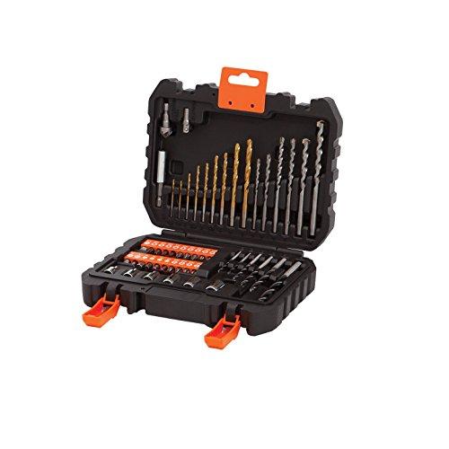 BLACK+DECKER A7188-XJ Set 50 Pezzi per Forare ed Avvitare