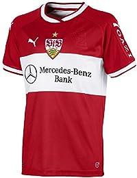 Puma VfB Stuttgart Away Réplica Camiseta Jr W. Sponsor Camiseta, Infantil, 924550,