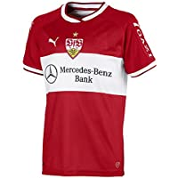 Puma Kinder VfB Stuttgart Away Replica Shirt Jr W. Sponsor Trikot