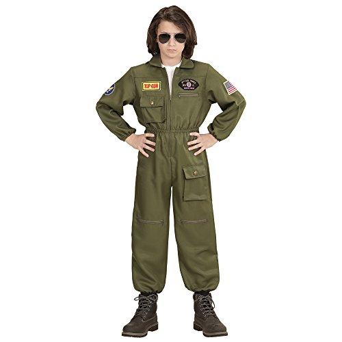 üm Kampfjet Pilot (Mädchen Kostüm Pilot)