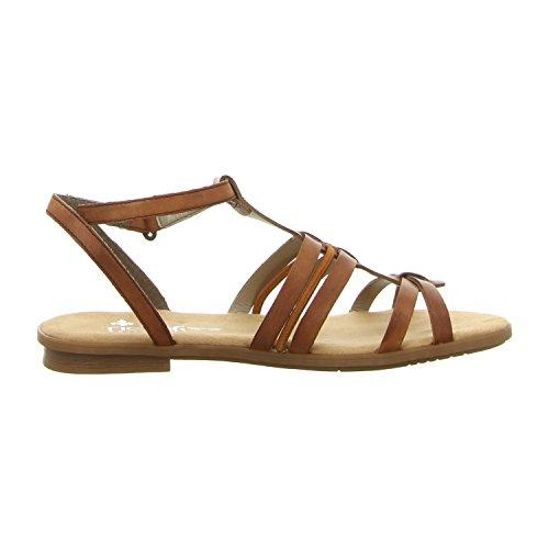 Ideal Shoes , Sandali donna, marrone (marrone), 36 EU