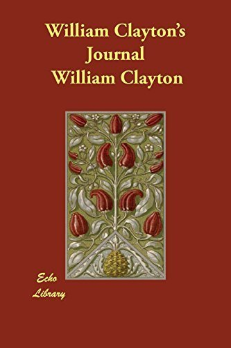 urnal by William Clayton (2014-09-01) ()