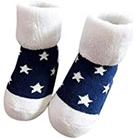 Baby Socken Winter,Covermason Kinder Kleinkind Baby Jungen Mädchen Socken Tiere Anti-Rutsch Gestrickt Warm Socken