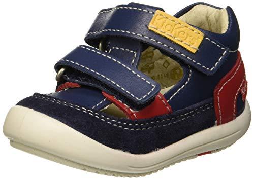 Kickers Kid, Sandalias para Bebés, Azul Marine 10, 21 EU