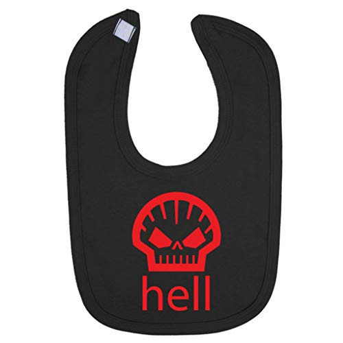 Hell Shell Logo As Worn By Heath Ledger Baby And Toddler Bib