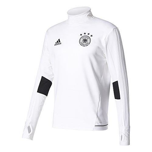 adidas Herren DFB Trainingsshirt, White/Black, M (Weiße Adidas Fußball Handschuhe)