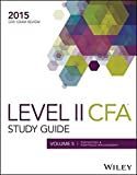 Wiley Study Guide for 2015 Level II CFA Exam: Volume 5: Derivatives & Portfolio Management