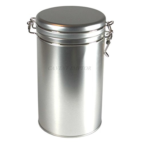Boxance Kaffeedose Rund mit Bügelverschluss Für 500 g Kaffee Lebensmittel Geeignet Tee Gewürz...