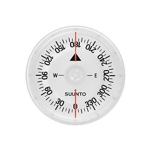Suunto Dive Sk-8 Diving , Nordhalbkugel , Inkl. Gummiband, schwarz