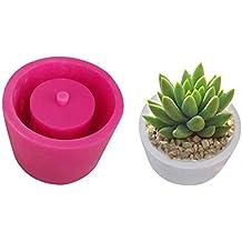 Moldes de silicona para manualidades, diseño de flores