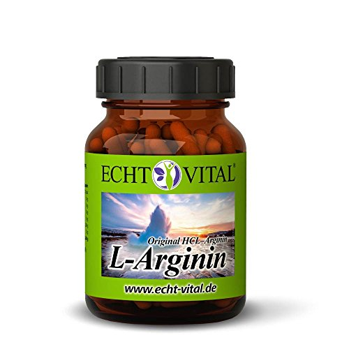 ECHT VITAL L-ARGININ - 1 Glas mit 120 Kapseln