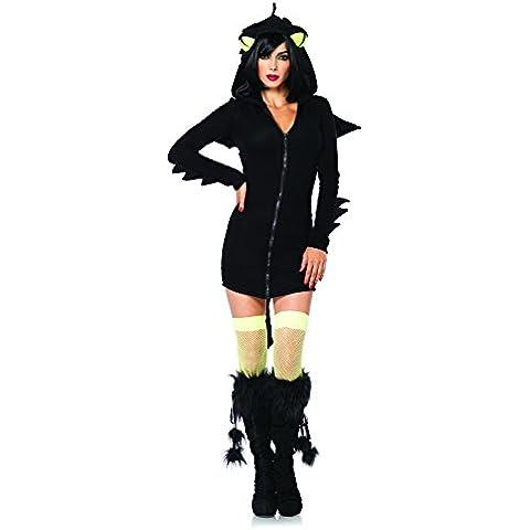 Leg Avenue 85315 - Costume per travestimento da drago, Donna, S, colore: Nero