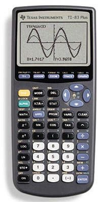 Texas Instruments Grafikrechner TI-83 Plus ohne