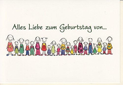 Geburtstagskarte Alles Liebe von... witzig lustig