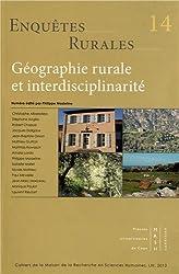 Enquêtes rurales, N° 14/2012 : Géographie rurale et interdisciplinarité