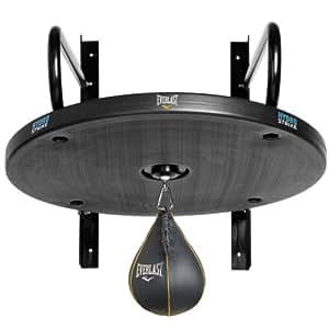 Everlast Punchingball-Gestell Hydrostrike, Plattform mit Punchingball/ Boxbirne, Grau