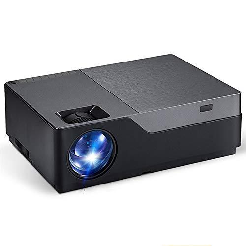 YHML Full-HD-Projektor, 1920X1080p, Android 6.0 WiFi, Videoprojektor, 5500 Lumen Für Heimkino-4K-LED-Projektor, Unterstützung HDMI, VGA, AV,Basic