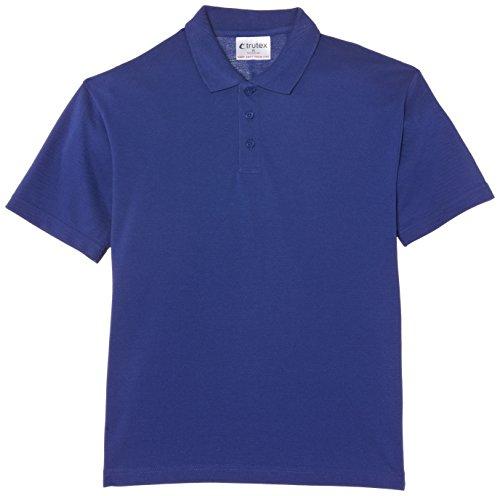 Trutex Limited Boy's Short Sleeve Plain Polo Shirt