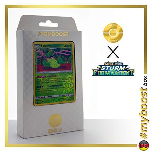 Sarzenia (Victreebel) 3/168 Holo Reverse - #myboost X Sonne & Mond 7 Sturm Am Firmament - Box de 10 Cartas Pokémon Alemán