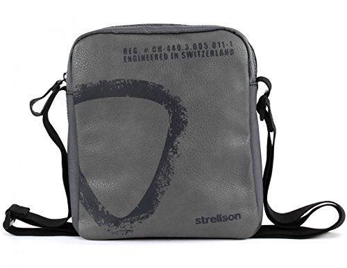 Strellson Paddington Umhängetasche klein 601 lightgreen 800 grey