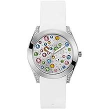 Guess Reloj Analógico para Mujer de Cuarzo con Correa en Silicona W1059L1 d8de6bb9703e