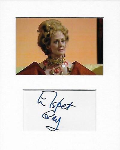 Doctor Who-Kanzler Thalia-Elspet Jean Gray, Baroness Rix Genuine Authentic Hand Autogramm AFTAL COA