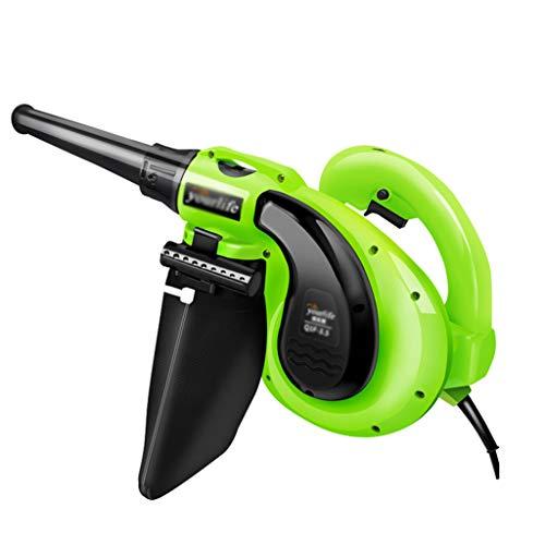 LaubbläSer - Mini-GebläSe-Power-Boost-Kehrmaschine und Handstaubsammler, 1050 Watt, 3000 U/Min, 6 Variable Drehzahlregelung GrüN