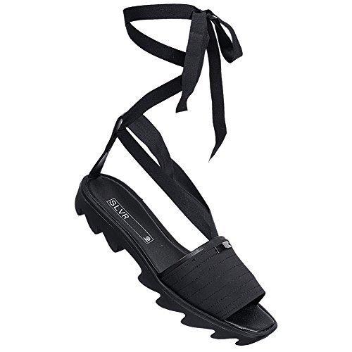 adidas SLVR Strap Sandal Damen Freizeit Sandale V20742