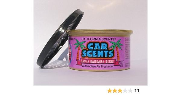 California Car Scents Duftdose Für Das Auto Duftrichtung Santa Barbara Berry Waldbeere Auto