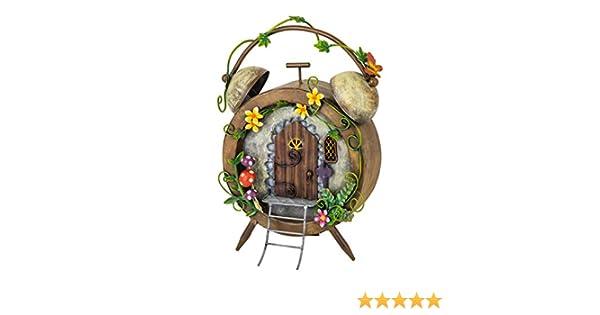 Cute Fairy Bag House  Metal Garden Ornament Perfect For Fairy Gardens fountasia