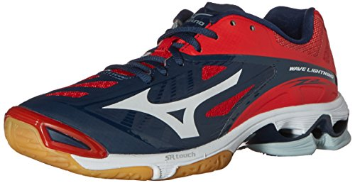 mizuno red volleyball shoes 50